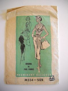Prominent Designer M334 Original by Paul Parnes by goodygirlred, $12.00