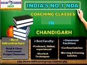 At the end, join Best NDA coaching institute in Chandigarh to get selected in Indian armed force as a job. As good coaching institute increase your confidence of cracking the exam in better manner. Best of luck and do your study under proper guidance.