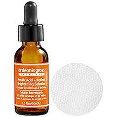 Dr. Dennis Gross Skincare - Ferulic Acid + Retinol Brightening Solution