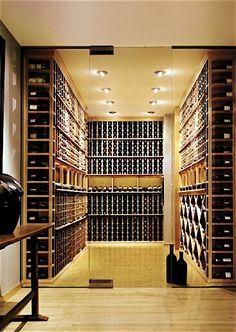 wijnkelder glazen wand - Google zoeken