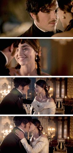 Victoria has news for Albert. Queen Victoria Tv Show, Victoria Bbc, Queen Victoria Prince Albert, Victoria And Albert, British Actresses, Actors & Actresses, Victoria Masterpiece, Tom Hughes, Couple