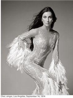 Cher by Richard Avedon