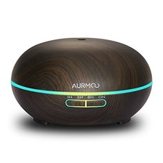 Led, Aroma Diffuser, Winter, Autos, Wood Grain, Ultrasound, Diffuser, Light Fixtures, Aromatherapy Humidifier