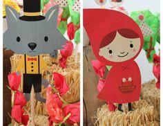 Caperucita Roja / Little red! Delfi - little Red Riding Hood