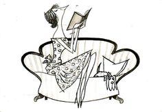 fiep westendorp - Google Search Retro Kunst, Retro Art, 2d Character, Mid Century Modern Art, Retro Illustration, 2d Art, Schmidt, Pattern Art, Vintage Prints