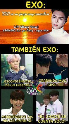 Memes bts y mas - mas memes - Wattpad Kaisoo, Chanbaek, Kyungsoo, Chanyeol, Memes Exo, Blackpink Memes, Taekook, Memes Funny Faces, Bts Memes Hilarious