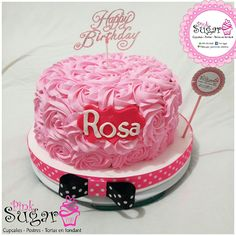 P390 rosecake @pinksugar_pasteleriacreativa whatsapp 3005930688 #pinksugar #cupcakes  #barranquilla #pasteleria #reposteriacreativa #tortas #fondant #reposteriabarranquilla #happybirthday  #vainilla  #cake #baking  #galletas #cookies  #buttercream #vainilla  #oreo  #cupcakesbarranquilla #brownie #brownies #chocolate #tortasbarranquilla #toppersbarranquilla #browniespersonalizados #tortaparis #topperscupcakes #browniesbarranquilla #chocodream #rosecake