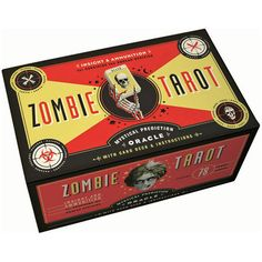 Supernatural Zombie Tarot Cards Deck at PLASTICLAND- for dan. he's always wanted to read tarot cards Zombie Apocolypse, Apocalypse, Tarot Card Decks, Tarot Cards, Geeks, Zombie Squad, Cl Design, Just In Case, Just For You