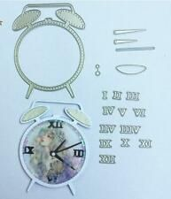 die cuts metal in Scrapbooking & Paper Crafts Scrapbook Paper Crafts, Diy Scrapbook, Scrapbooking, Clock Craft, Metal, How To Make, Cards, Decor, Laminas Vintage