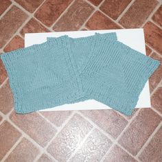 100 Cotton Dish Cloth with knit in Christmas Tree by Susansweaters, $7.50