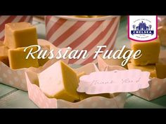 Chelsea Russian Fudge Recipe