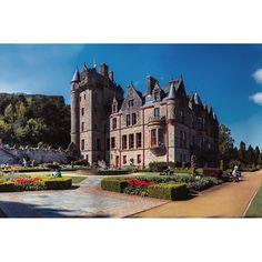 Belfast castle in Northern Ireland. Photo by Dmitri Korobtsov.
