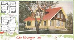 "Aladdin Kit Home, ""The Grange,"" 1920"