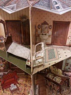 Pop up book#victorian doll house#
