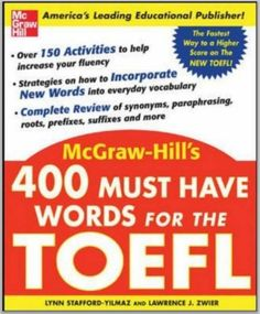 This is the most recommended word book for TOEFL ibt.  Download link: https://adf.ly/qjCJs