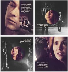 Obsessed with this Delena edit♥