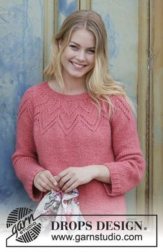 Search all Patterns - Free knitting patterns and crochet patterns by DROPS Design Drops Design, Drops Patterns, Lace Patterns, Crochet Patterns, Sweater Knitting Patterns, Knitting Designs, Crochet Patron, Knit Crochet, Vintage Knitting
