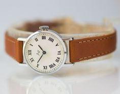 Classic watch Ray round woman's wristwatch ornament by SovietEra, $69.00