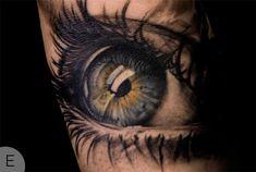 Blue Eye tattoo by Niki Norberg
