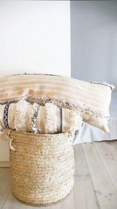 Image of  Vintage Handira Pillow Cover - Long