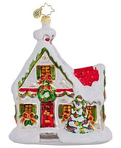 Radko Christmas Ornaments | Christopher Radko Christmas Ornament, Macy's Exclusive Holiday Home ...
