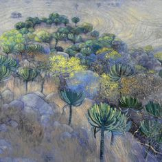 Official homepage of South African artist Karin Daymond. Karin captures the spirit of a place in her evocative paintings, drawings and printmaking. Abstract Landscape, Landscape Paintings, Abstract Art, Landscapes, South African Artists, Colorful Artwork, Abstract Styles, Beautiful Paintings, Art Images
