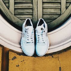 Our new BCN Brand sneakers collection in light blue💭✨💧#style #bcn #fashion #bluesneakers