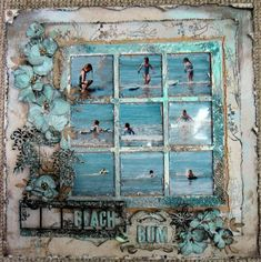 This is a pretty awesome scrapbook page @Sandra Pendle Cravey @Tiffany Denison