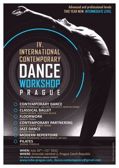 International Contemporary Dance Workshop Prague More