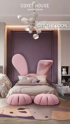Kids Bedroom Furniture, Room Decor Bedroom, Furniture Design, Bedroom Ideas, Bedroom Decor For Kids, Kids Bedroom Girls, Bedroom Bed, Master Bedrooms, Muebles Estilo Art Nouveau