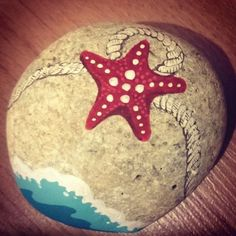 Image result for painted rock starfish