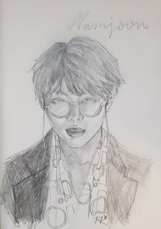 Pencil drawing Namjoon, Pencil Drawings, Nutrition, Trends, News, Art, Art Background, Kunst, Performing Arts