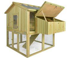 chicken coops imperial h hnerstall marlborough f r 6 bis 8 h hner je nach gr e leicht zu. Black Bedroom Furniture Sets. Home Design Ideas