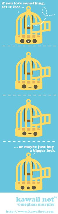 Kawaii Not - Caged Love