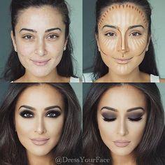Resalta tus facciones con el contour adecuado. #VoranaTis #PasoAPaso #Tutorial Maquillaje
