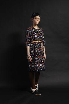 I love this dress by MIna Perhonen http://www.mina-perhonen.jp/en/collection/clothes/1213aw/