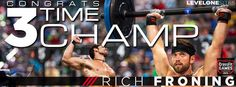 Rich Froning 3-peats!!! Fittest MAN on Earth. Reebok Crossfit games 2013  An ORIGINAL from levelonesites.com