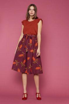 Princess Highway Online | Bottle Brush Skirt - Skirts - Clothing Princess Highway, Native Style, Purple, Pink, Blue, Diy Clothing, Midi Skirt, Bridal, Native Fashion