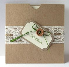 Beautiful Wedding Invitations by Lilylou & You - Pocketfold & Other Invitations