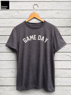 Game Day shirt baseball tshirt football tshirt by FamousBasics
