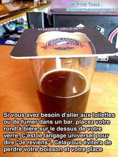 Ne perdez plus votre biere dans un bar