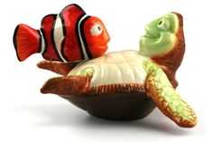 Nemo & Crush - Salt & Pepper Shakers