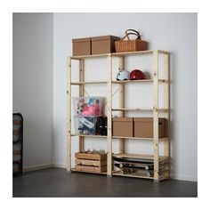 HEJNE 2 secciones IKEA Puedes ampliar fácilmente la combinación si añades secciones y baldas.