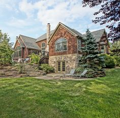 Custom-built cedar and stone Chagrin Falls, Ohio home for sale. Beautifully landscaped. Exquisite woodwork. Photo/video tour at this link: http://pitch.pe/1srw5DG