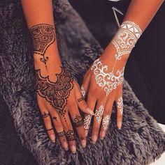 Henna beautiful elegant