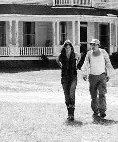 Dale Walking Dead   walking dead art