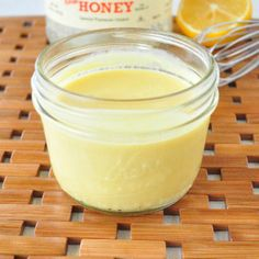Healthy Honey Mustard Dressing | My Whole Food Life