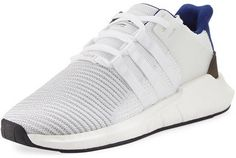 Adidas Men's EQT Support ADV 93-17 Sneaker, White/Blue