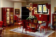 Kolekcja meble do salonu Art Deco jest zainspirowana awangardowym stylem powstałym podczas Exposition Internationale des Arts Decoratifs w Paryżu w 1925r.