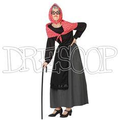 Disfraz Vieja para mujer - Dresoop.es